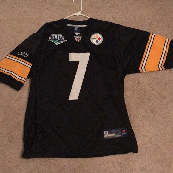 official photos 0f4fa 8eadf Steelers Ben Roethlisberger Super Bowl 43 Jersey